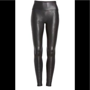 Spanx Faux Leather Leggings Size XS